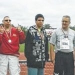 Special Olympians medal in bowling, track