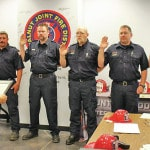 Big Walnut Joint Fire District promotes Fire Captains