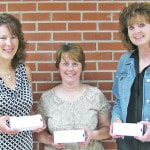 Teachers honored for years of service