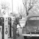 Early gas stations in Cardington offered services