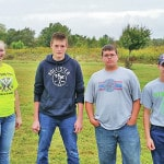 Highland FFA Competes in County Soils
