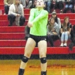 Sluggish start costs Highland in volleyball tournament loss to Pleasant Tuesday