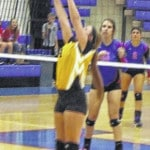 Highland volleyball completes perfect league season with win over Northmor