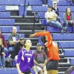 Highland volleyball wins first tournament game at Mount Gilead's expense