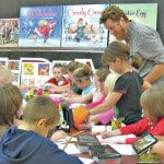Illustrator brings safety lessons to C-L elementary