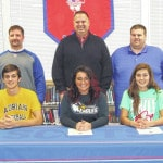 Three Highland athletes committ to colleges