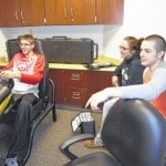 Northmor students get a taste of distracted driving