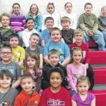 Cardington Elementary School names January students of the month