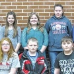 January students of the month for Cardington Intermediate School