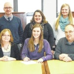 Northmor's Mikayla Briggs signs to play volleyball for Bluffton
