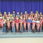 Highland Elementary names its February students of the month