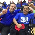 Highland shows support for family of student with cerebral palsy