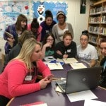 Mount Gilead High School seniors chat with French students via Skype as part of education research project