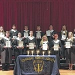 Cardington-Lincoln High School inducts new members into National Honor Society