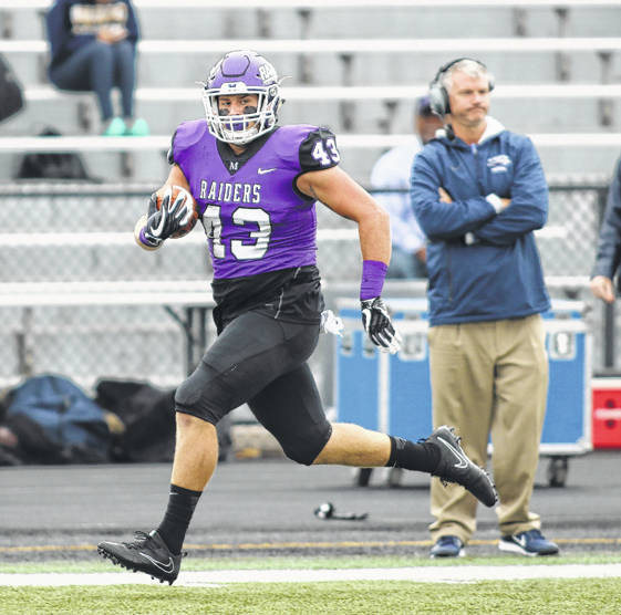 Williams Scores Td For Mount Union Morrow County Sentinel