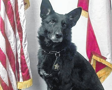 Dixie retired Friday from the Morrow County Sheriff's Office.