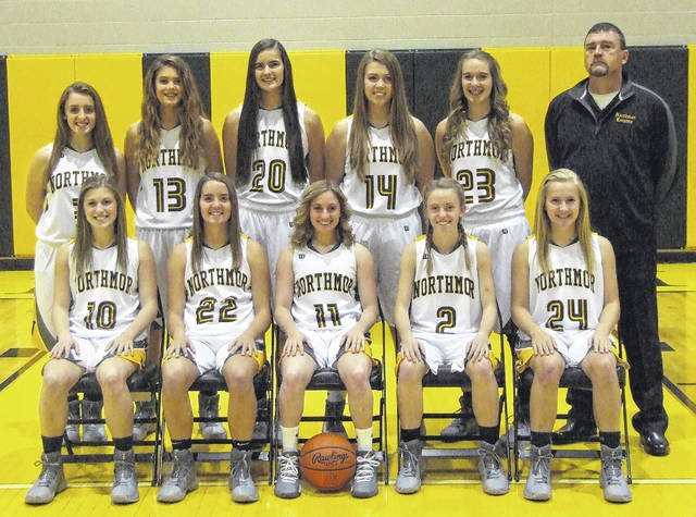 Northmor's girls' basketball team is in the above picture.