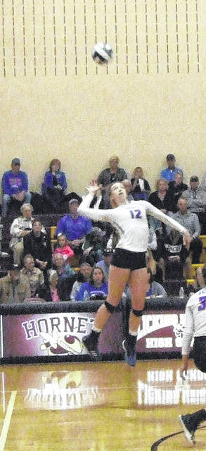 Highland's Raina Terry was named the KMAC's Player of the Year for volleyball this fall.