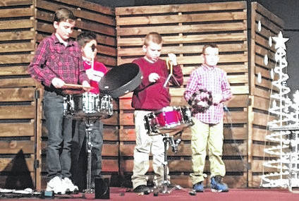 Gilead Christian School kicked off the holiday season with students showing off their musical talents in the school's Christmas programs.