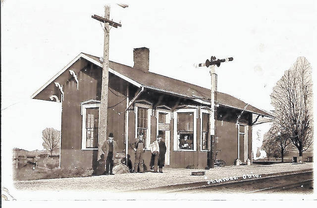 The train station in Saint James.