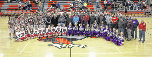 When the OHSAA held Military Appreciation Night on Jan. 20, both the Mount Gilead and Fredericktown boys' basketball programs recognized armed forces members as part of the festivities surrounding their contest that night.
