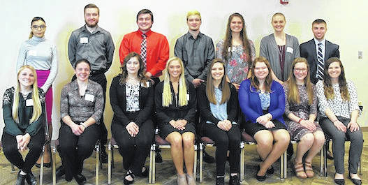 Mid-Ohio Educational Service Center recognized 16 senior students from client school districts for their academic success, school and community service at its annual Franklin B. Walter Scholarship Award Dinner on March 21.