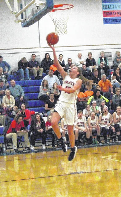Sage Brannon was a second-team All-Ohio pick in Division III girls' basketball.