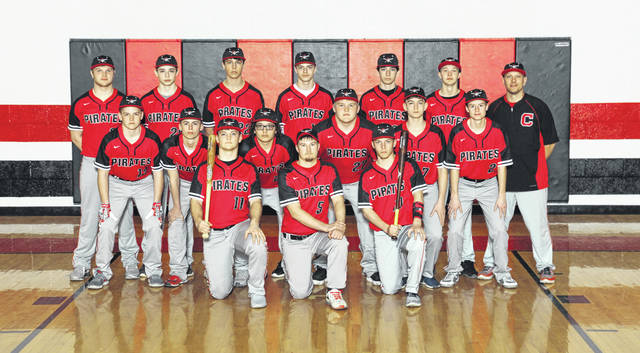 Cardington's baseball team for the spring season is pictured above.