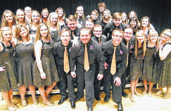 Northmor High School's show choir, Knightsounds.