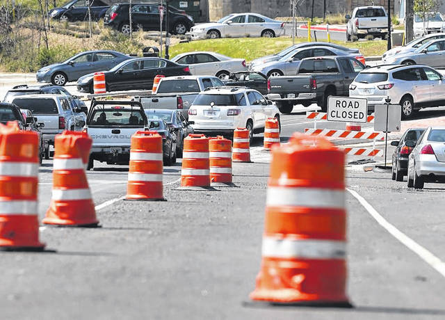 File photo Despite higher gas prices, Memorial Day traffic is expected to be heavier than it has been in more than a decade.