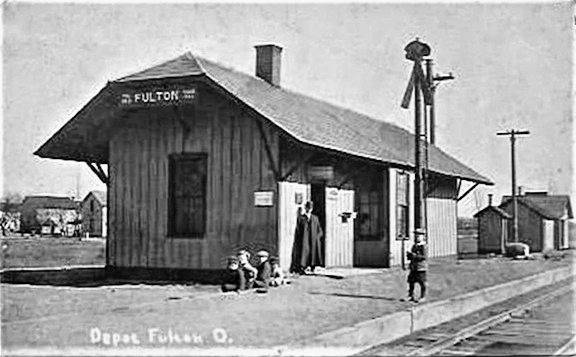 Fulton housed the Toledo & Ohio Central Depot.