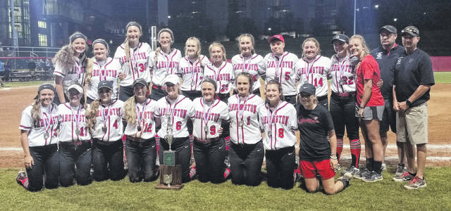 It might not have been the trophy the Cardington softball team was hoping to earn, but for the third straight week, they were able to take home hardware — this time for being the Division III state runner-up after dropping a hard-fought 9-4 contest with Warren Champion Saturday night.