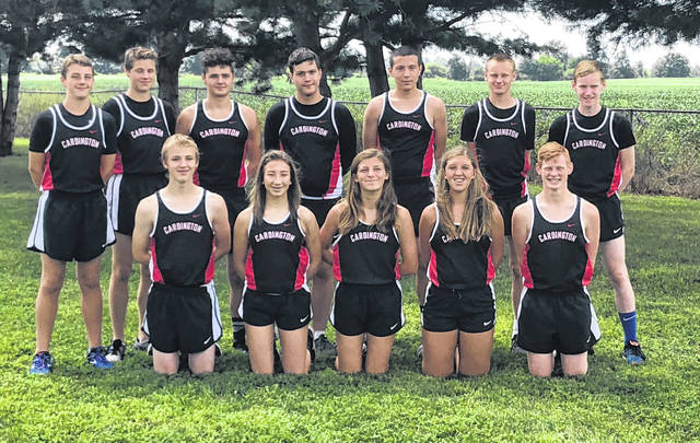 Pictured above is the Cardington cross country team.