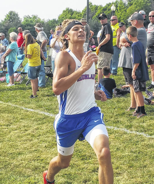 Dalton Lee led the Highland boys' team at Monday's Northmor Invitational.