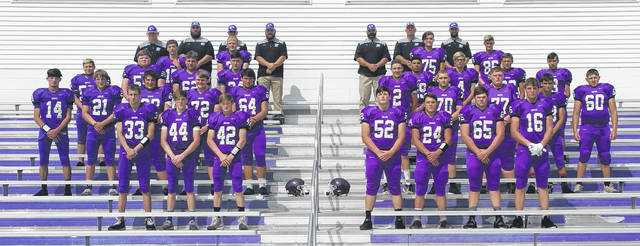 Mount Gilead's 2018 football team is in the above picture.