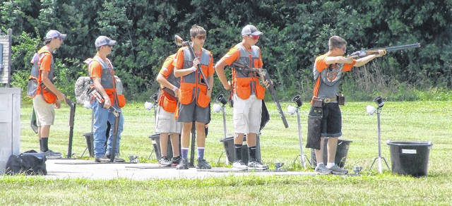 Youth shooters from around the country were at Cardinal Center in July for the SCTP National Championships.