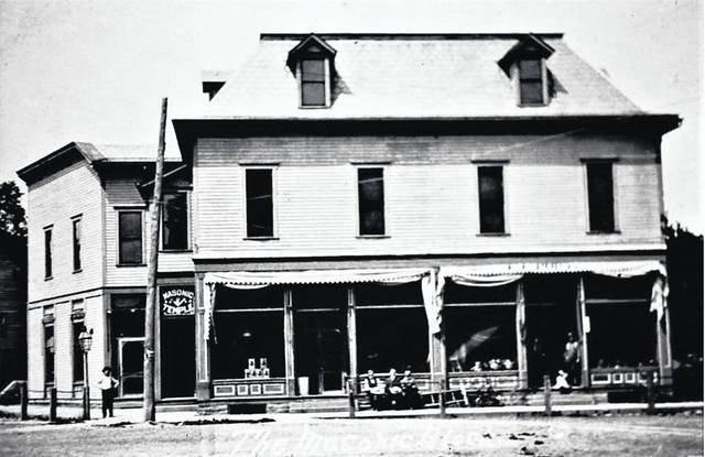 Masonic Lodge. The lodge remains upstairs and Chesterville Grocery is on the main floor. There have been four Masonic Buildings located on the lot; three were destroyed by fire in 1899, 1912 and 1939.
