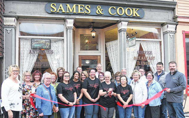 Sames & Cook held a ribbon cutting on Oct. 11. The business is a new member of the Morrow County Chamber of Commerce.