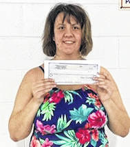 Taylor King, of Mount Gilead, won the recent luvnlife2 -Water-Fit-A-Thon 50/50 drawing in the amount of $270. This was a fund raiser for the new pool stairs with handrails fund and a wrap-up event for the summer luvnlife2, water fitness season held at the Cardington Public Swimming Pool. King donated $200 back to the fundraiser for the new pool stairs. Donations to the fund may be made by going to https://www.gofundme.com/new-pool-stairs-with-handrails. To become involved with this group contact Angela (Boyd) Dendinger at luvnlife2@live.com.