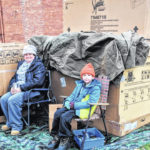 Shack City: Cold night to be homeless