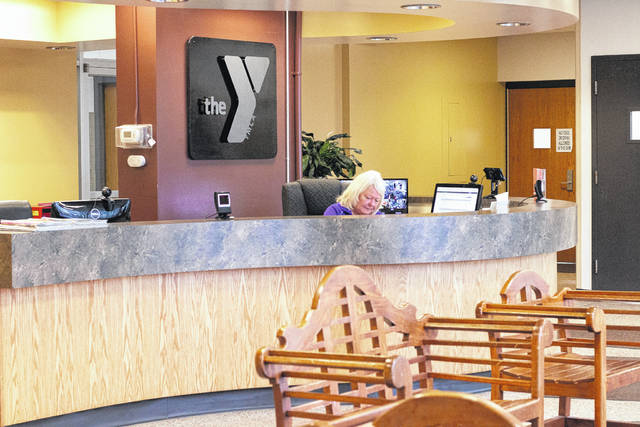 Photo by Erin Miller From new outside steps to an updated entrance, to lighting improvements in the pool and gym area, 2018 was a year for improvements at the Galion Community Center YMCA. And there is more to come in 2019,