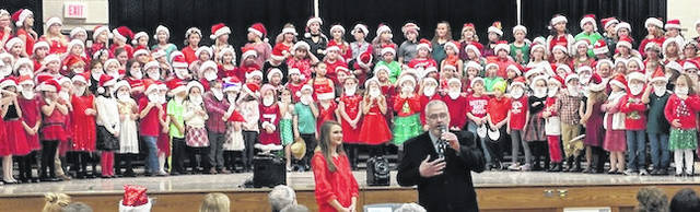 One hundred and fifty Highland Elementary students presented a concert for the community.