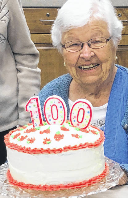 Charlotte Geyer of Mount Gilead turns 100 years old Saturday.