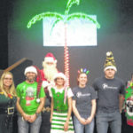 Foster children attend Christmas party