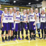 MG eighth grade girls have perfect season