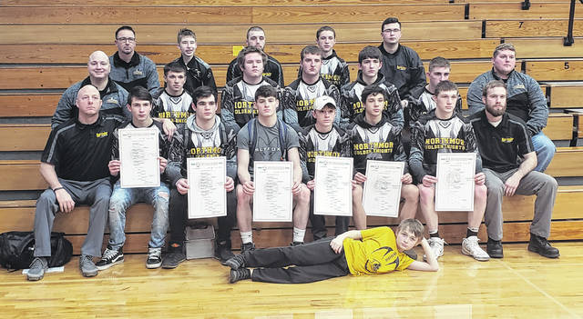 Northmor finished with six sectional champions Saturday, as the team earned a sectional title by 13 points over Pleasant.