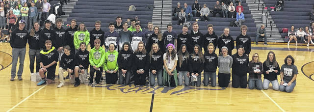 The Mount Gilead cross country teams were recognized for their outstanding 2018 season during the basketball season. The team had a roster of 23 boys and 16 girls and of these athletes, 23 are ranked in the top 100 all time in Mount Gilead history. The girls' team was district champions, regional runner-up and finished ninth in the state cross country meet. The boys' team was district and regional champs and took fifth in the state meet. Among these athletes were nine KMAC first-team runners, nine first-team all-district runners, seven first-team all-region runners and three All-Ohioans in Baylee Hack, Ali Johnson and Liam Dennis. Johnson and Hack both finished the season ranked in the top 250 individuals in the nation. Casey White was named the KMAC Academic Runner of the Year and Johnson was the KMAC and Central District Runner of the Year and on the All-Midwest Region Team, which includes a 13-state area.