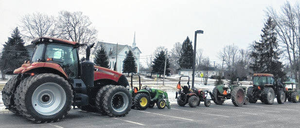 Drive Your Tractor to School Day was part of Highland FFA Week.