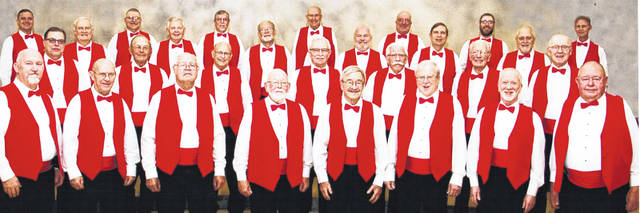 The Marionaires Barbershop Chorus.