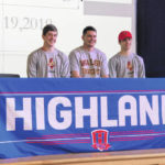 Highland trio to play football in college